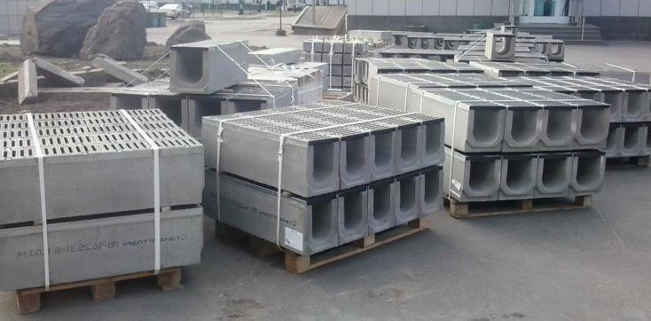 виды и классы бетонных желобов для отвода воды