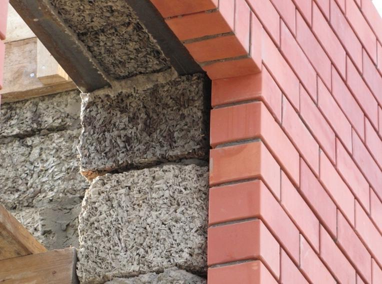 внешняя отделка стен из арболита