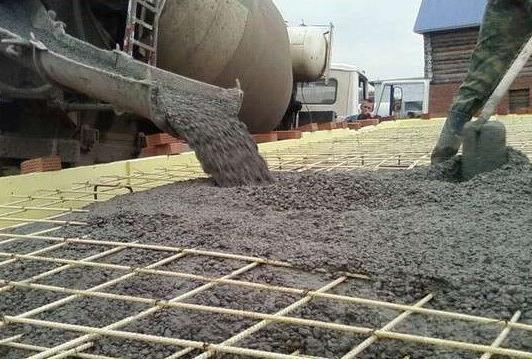 высокопрочный бетон применение