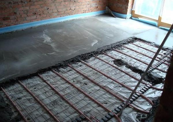 заливка бетонного пола своими руками