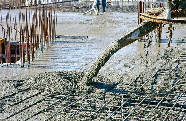 заливка сверхпрочного бетона М700