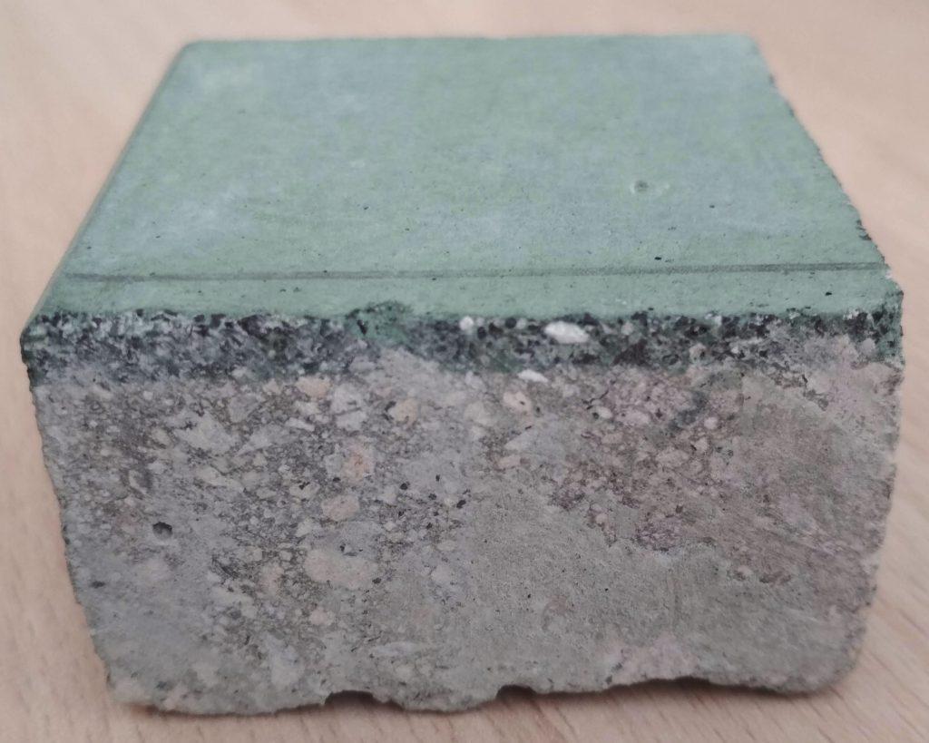 бетон с топпингом