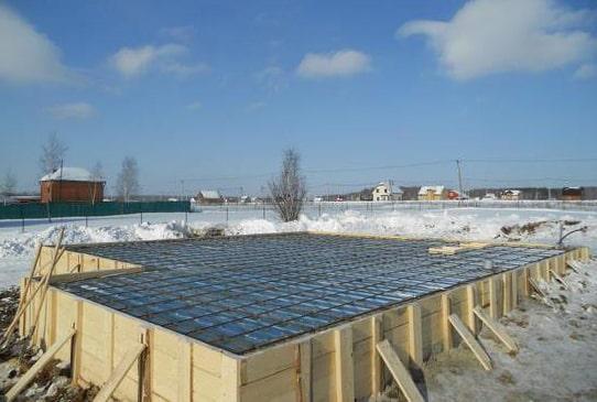 бетонирование при отрицательных температурах