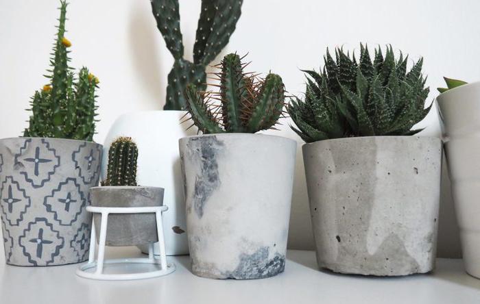 Горшок бетон раствор 100 цементный