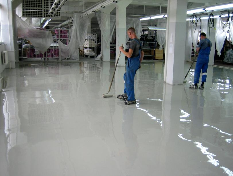 чем обработать бетонный пол для удаления пыли