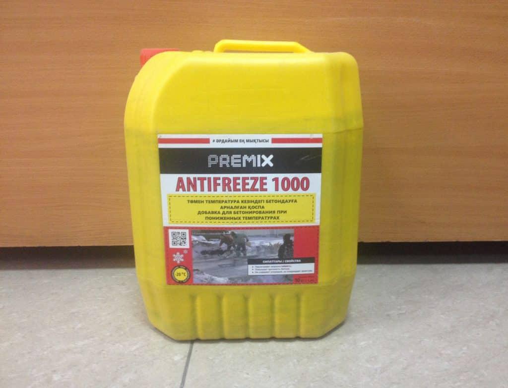 добавки для бетонирования на морозе