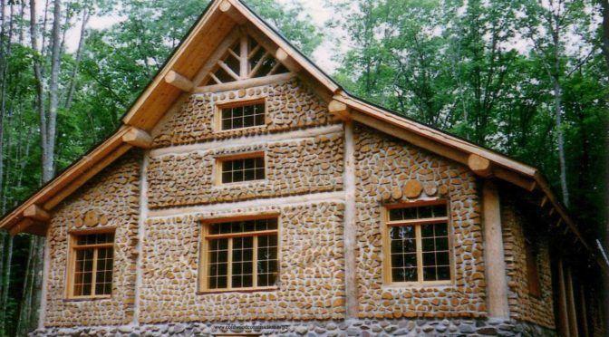 дом из поленьев