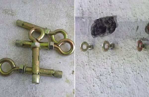 дюбель молли для бетона