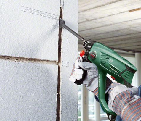 как и чем делать штробы в бетона