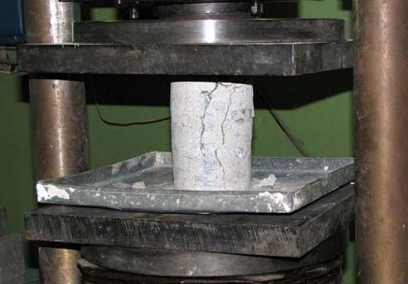 как осуществляется испытание бетона