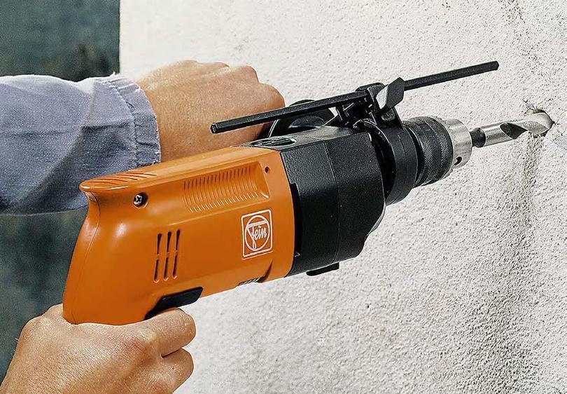 как правильно сверлить бетон