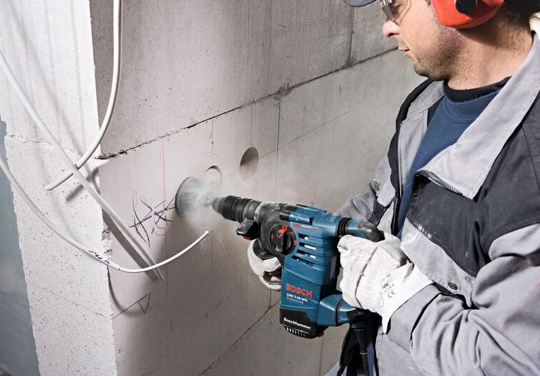 как сделать штробы в бетонной стене