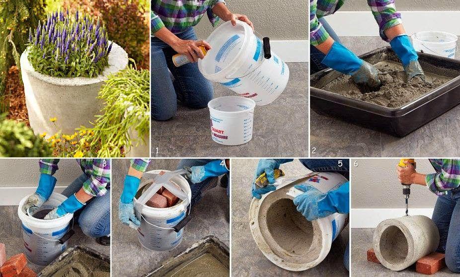 Бетонная смесь для кашпо состав эпоксидный клей по бетону купить