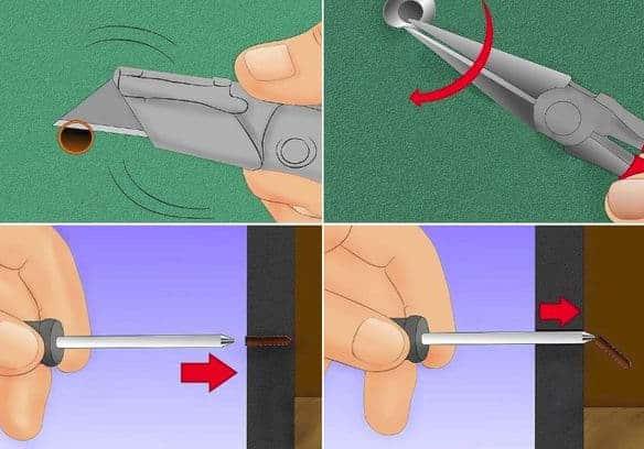 как выкрутить рамный анкер