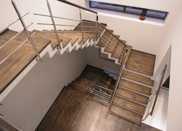 какие бывают лестницы в частных домах
