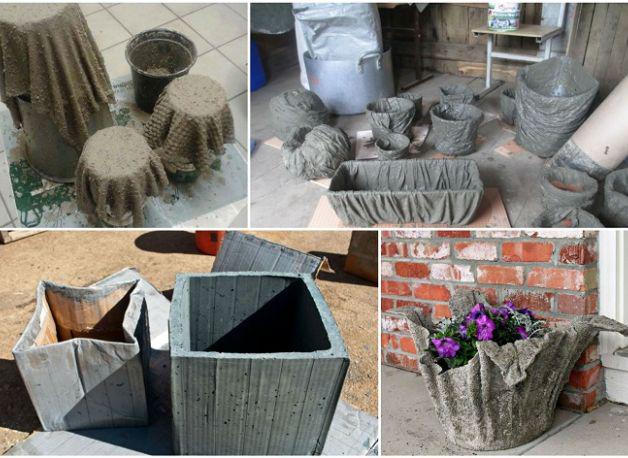 Бетонная смесь для кашпо состав лак по бетону для наружных работ купить в спб