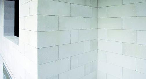 кладка стен в двухэтажном газобетонном доме
