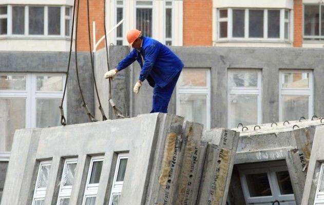 монтаж дома из жби