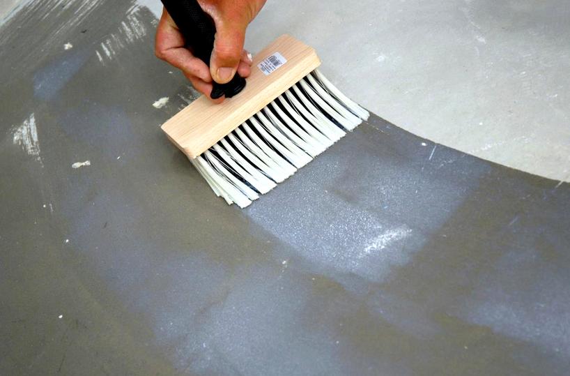 покрытие бетонного пола пропиткой