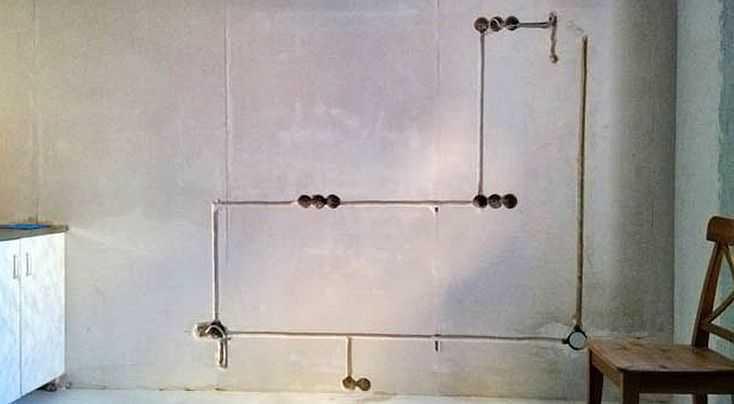 правила выполнения штроб в стене
