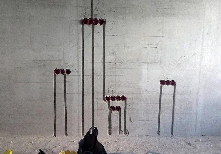 правильно сделанные штробы в бетоне