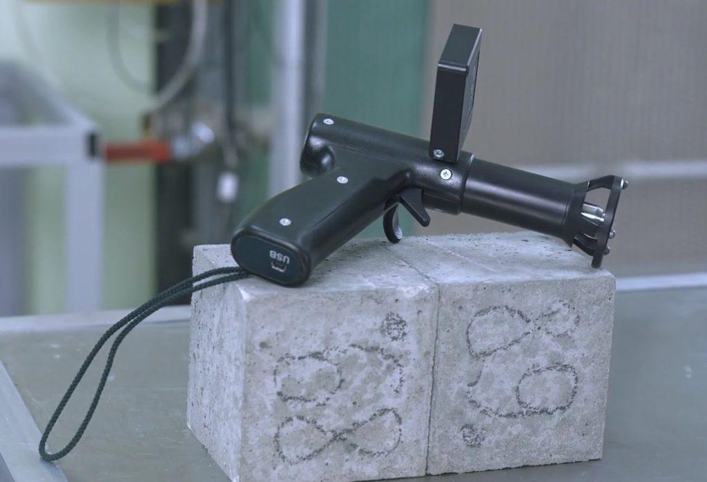 прибор для испытания бетона