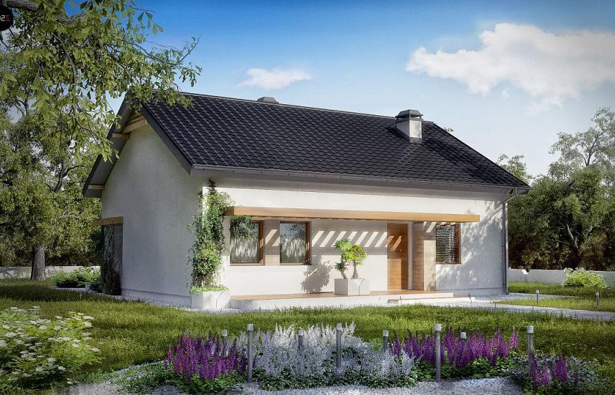 проекты домов из газобетона площадью 10 кв. м