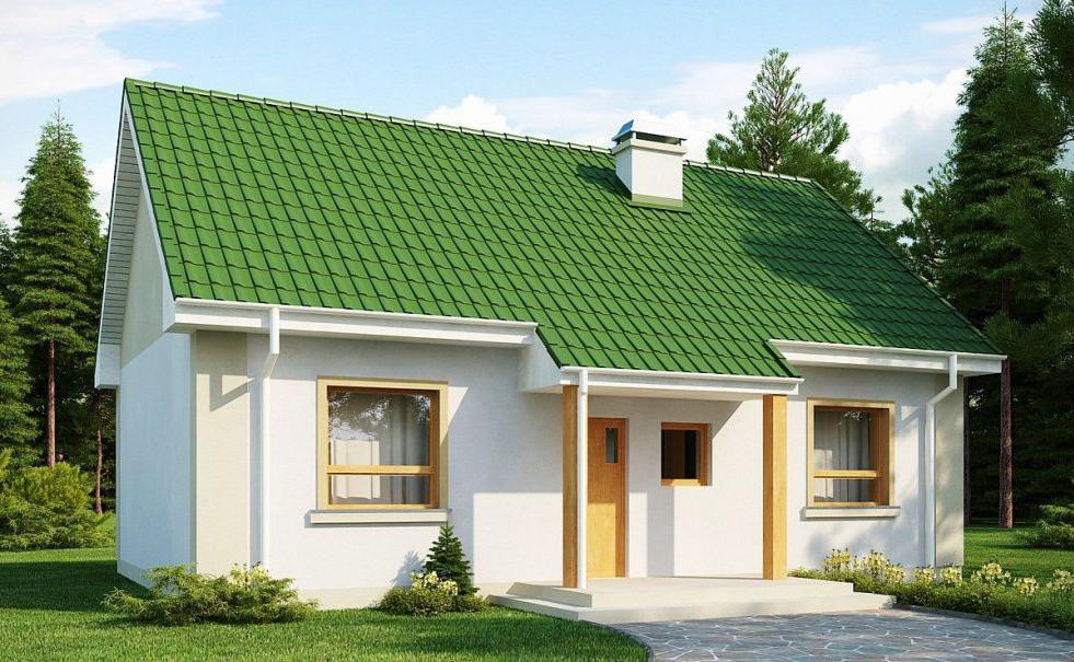 проекты типовых домов из газобетона