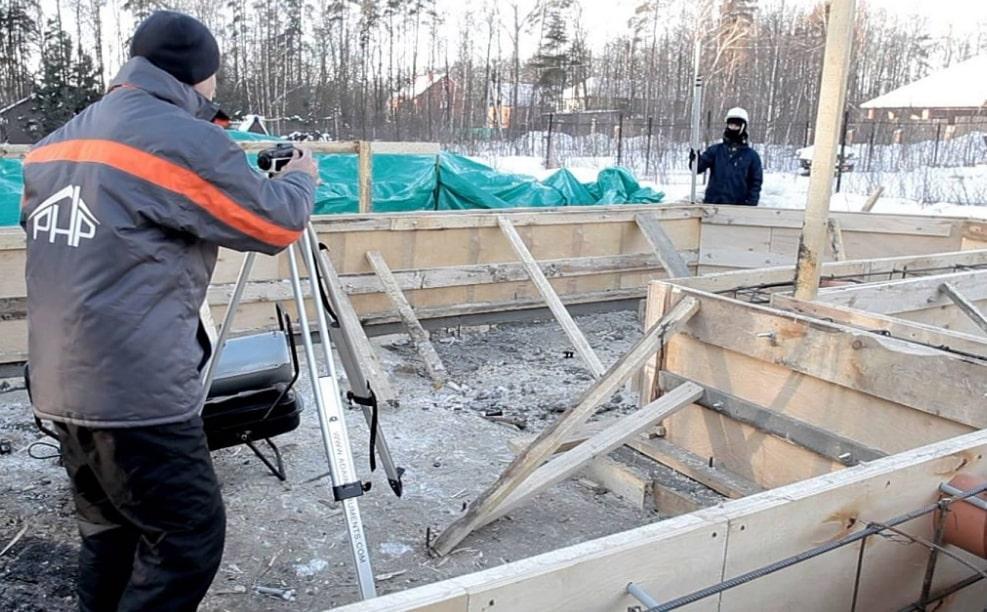 работа с бетоном на морозе минусе