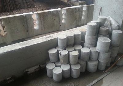 создание бетонных образцов для исследований