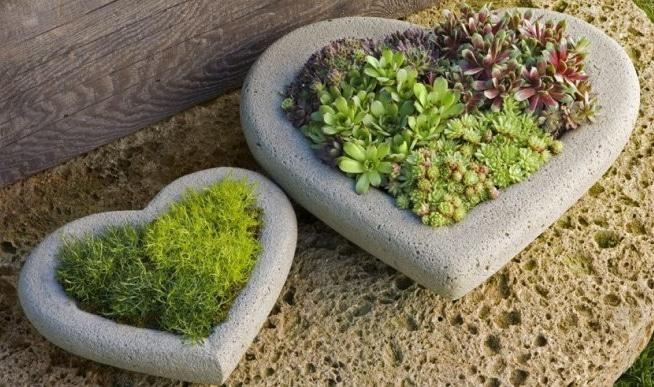 создание вазонов из бетона своими руками