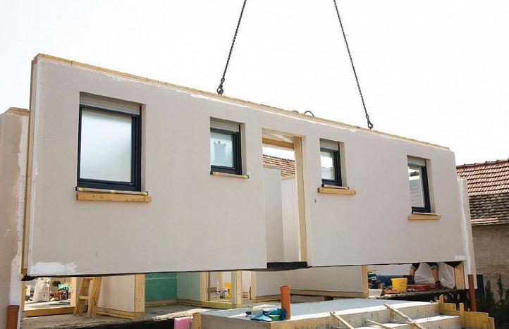 строительство домов из жби панелей