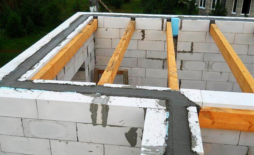 строительство двухэтажных домов из газоблока