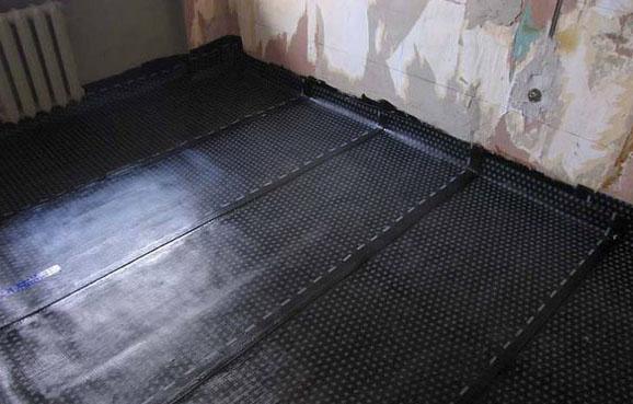 утепление и гидроизоляция бетонного пола