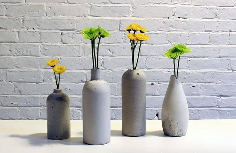 вазы из бетона своими руками