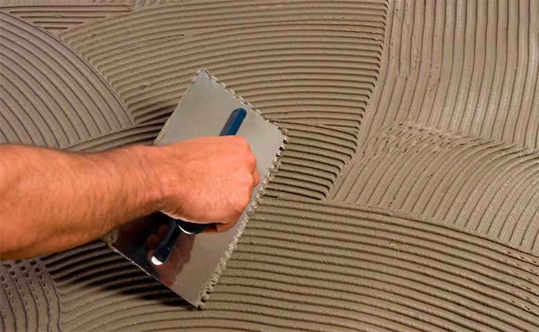 виды и свойства клея для бетона