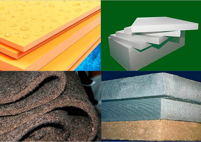 виды утеплителей для бетонных полов
