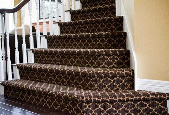 как и чем отделать бетонную лестницу