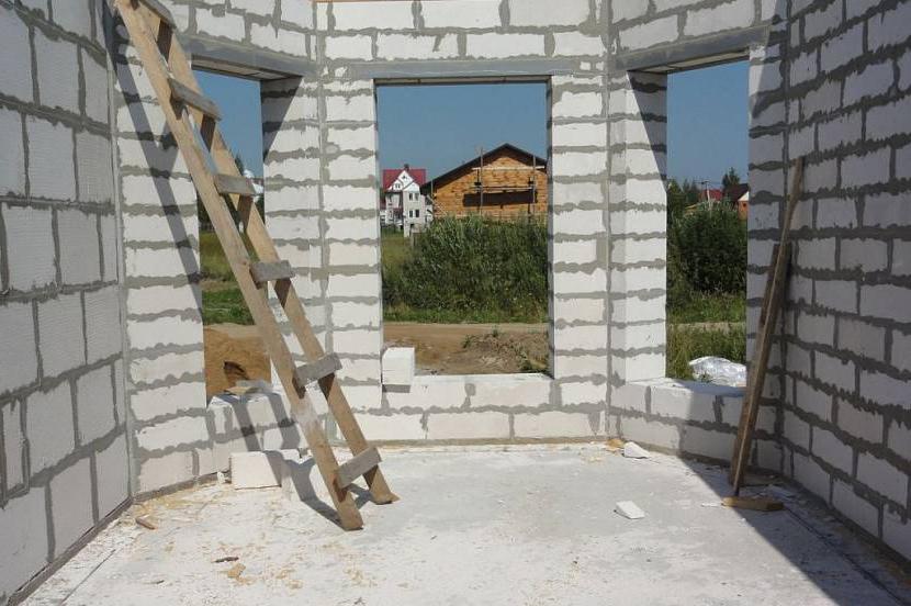 как строить дом из пеноблока