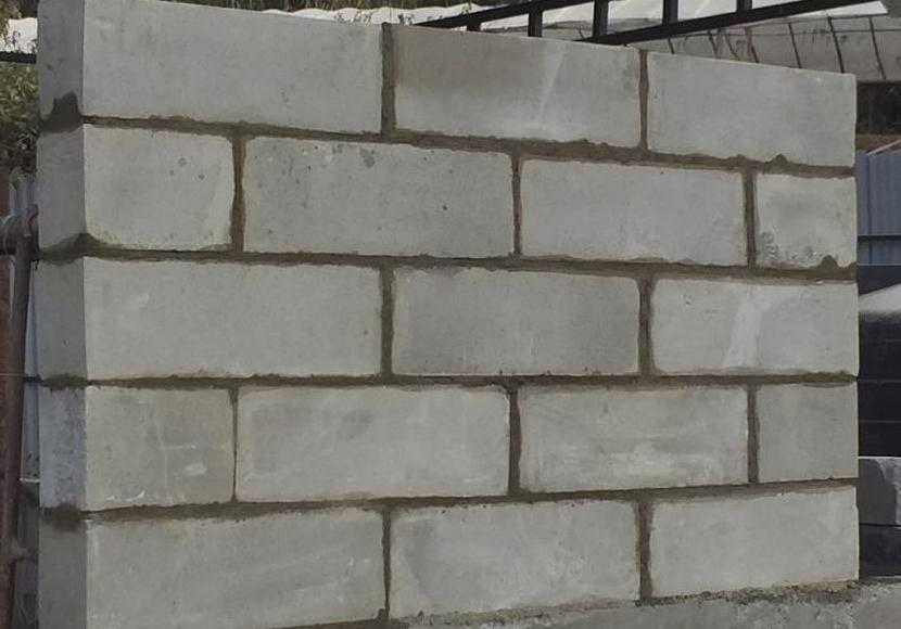 кладка стен из пеноблока