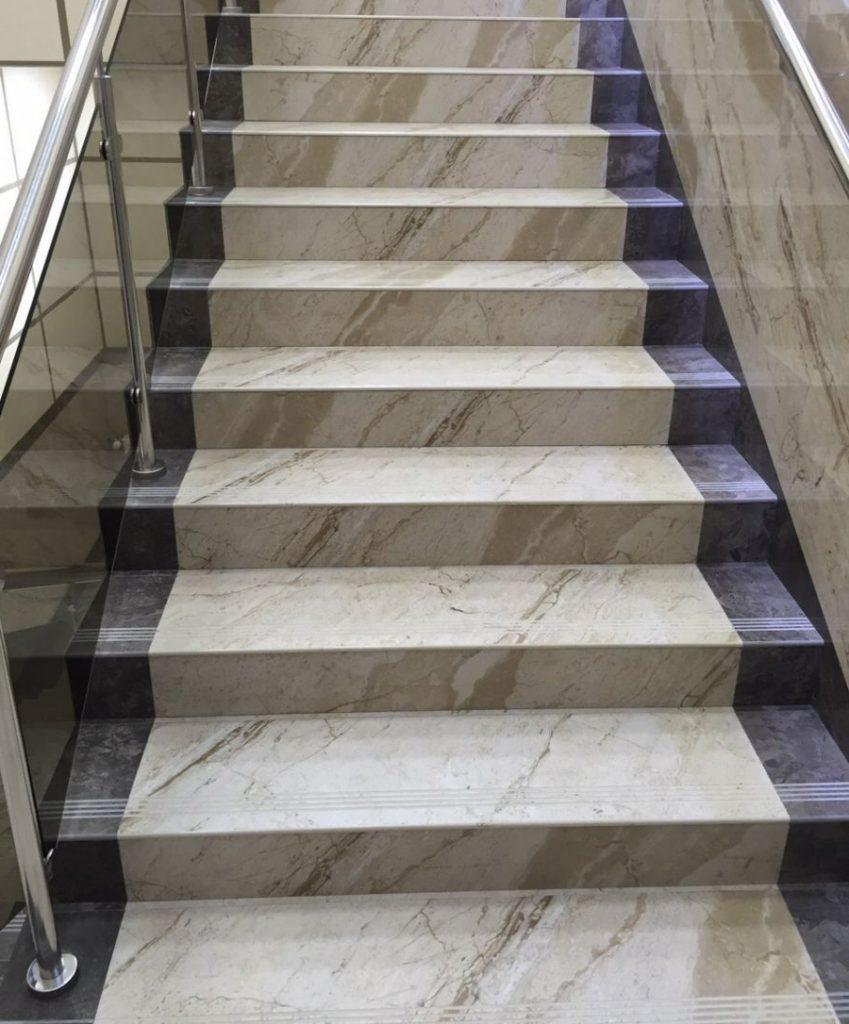 отделка бетона натуральным камнем