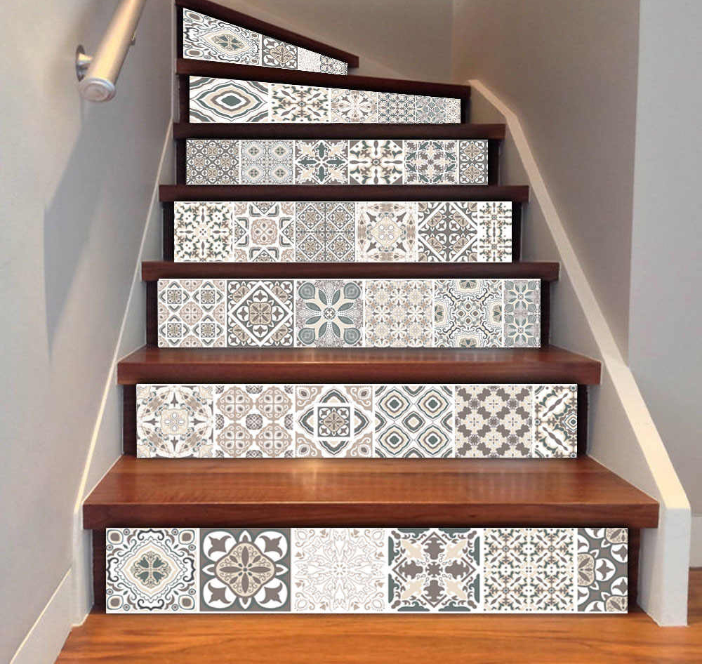 отдлека лестницы керамической плиткой