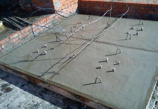 прогрев бетона с использованием кабеля