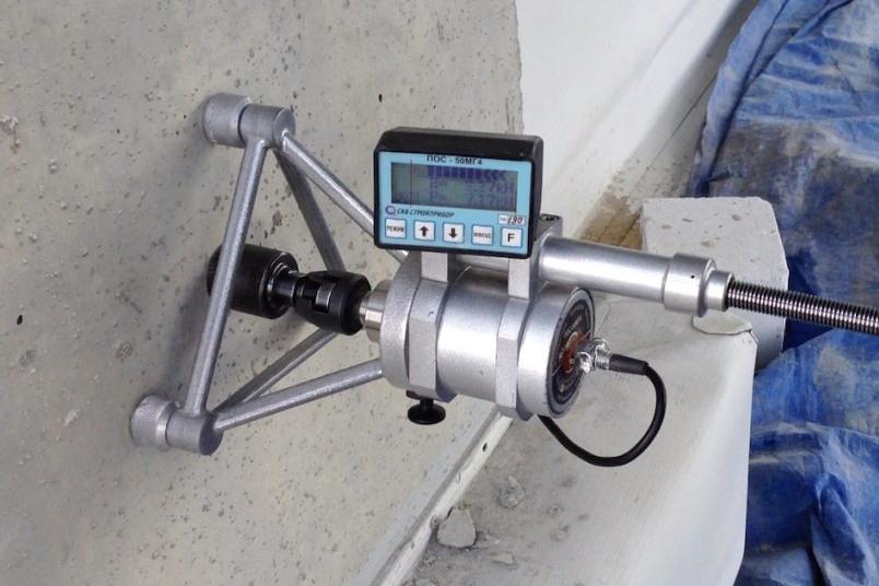 проверка марки прочности бетона