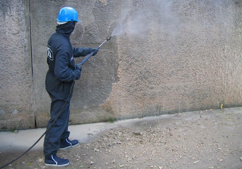 сфера применения торкретирования бетона