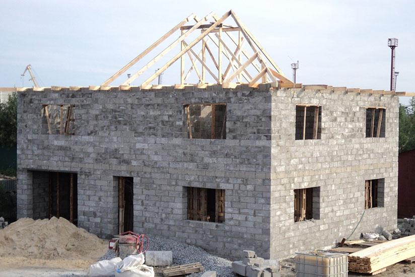 строительство качественного дома из пеноблока