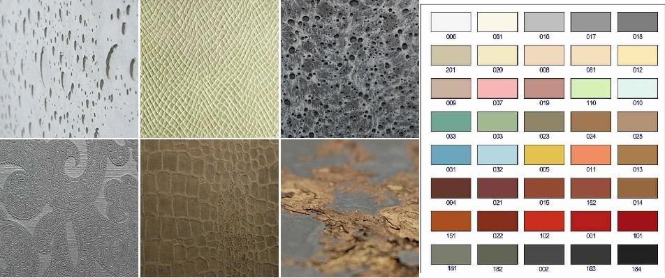виды декоративного бетона