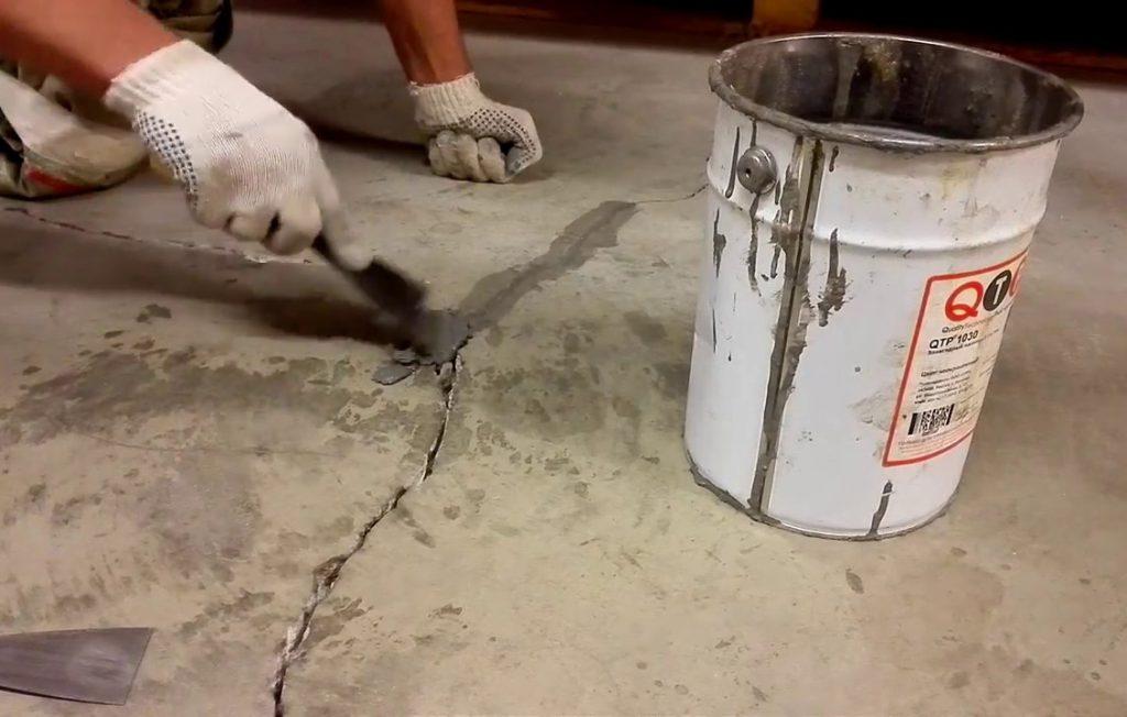 восстановление бетонного пола