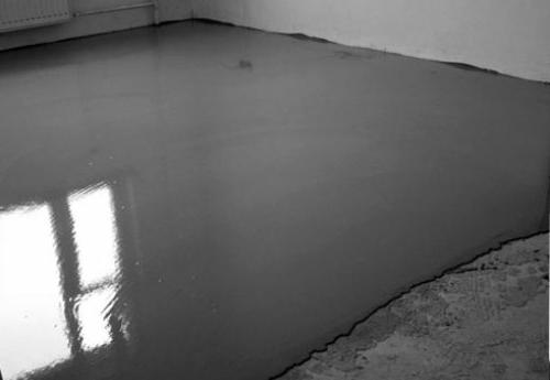 заливка стяжки бетонного пола заново