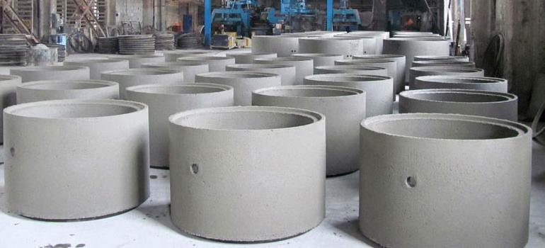 бетонные кольца производители